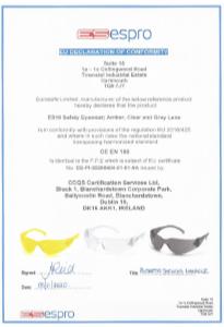 ES10 Safety Eyewear