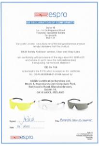 ES20 Safety Eyewear